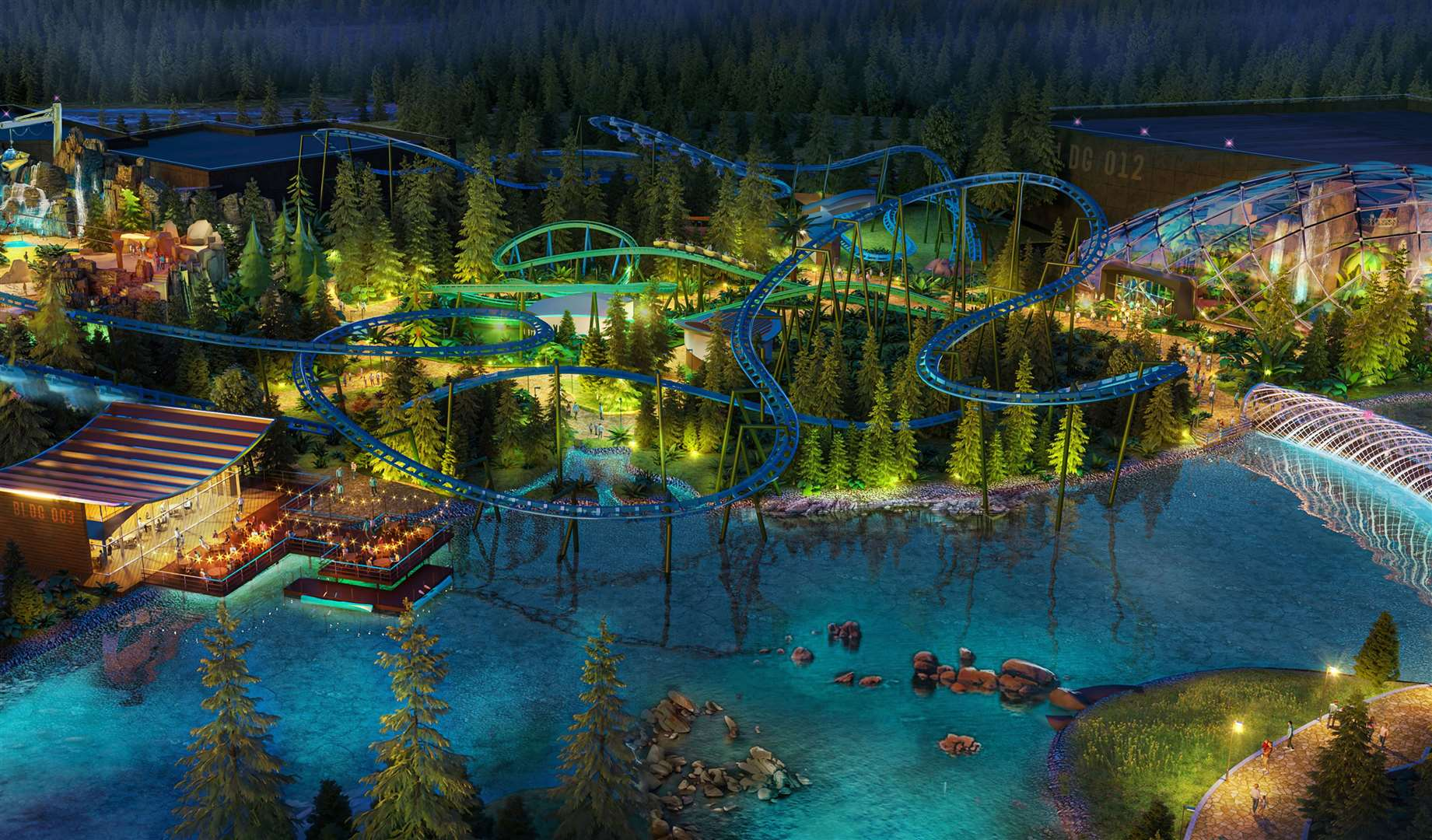 The London Resort will cost £2.5bn to build