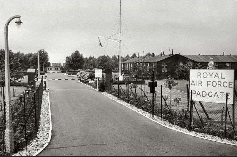 RAF Padgate in the 1950s