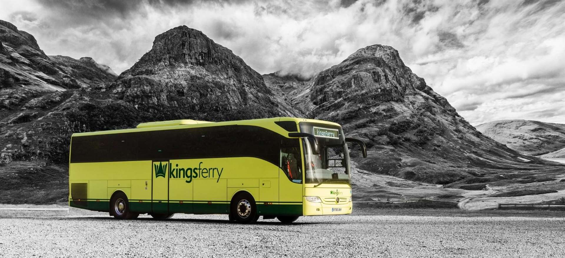 Ever considered a career as a coach driver? Then hop on board The Kings Ferry.