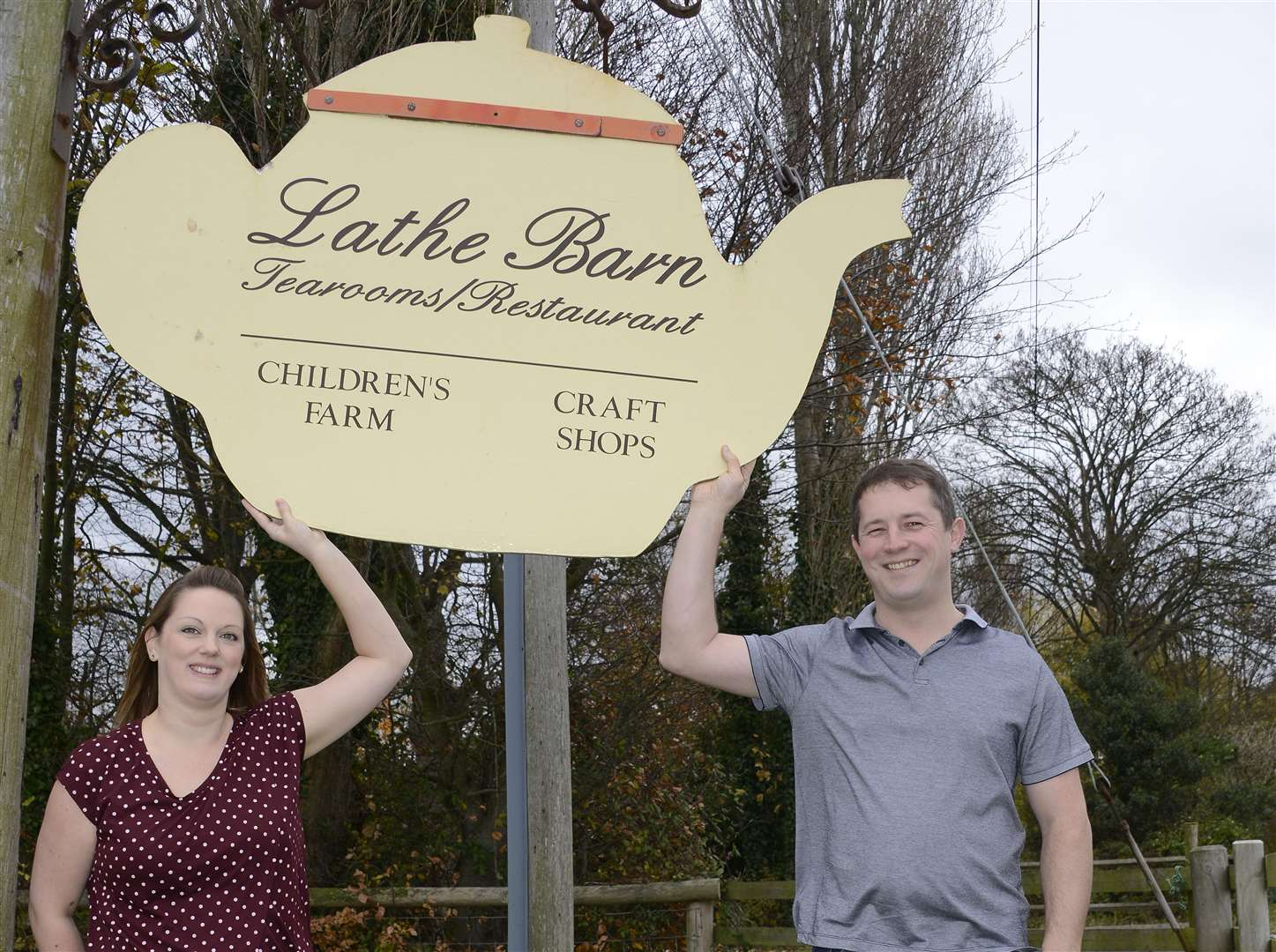 Lathe Barn was taken over by Katy and James Beck last autumn but the business has been hit by cash flow problems
