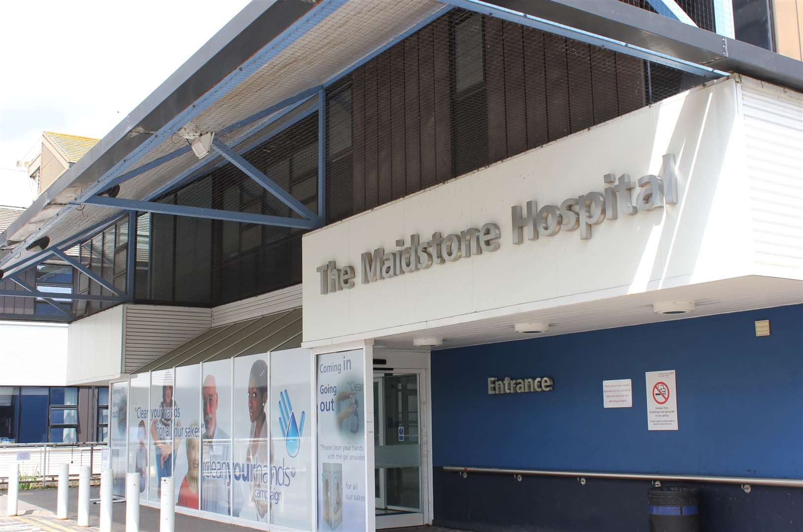 Maidstone Hospital has seen numbers of Covid patients fall dramatically