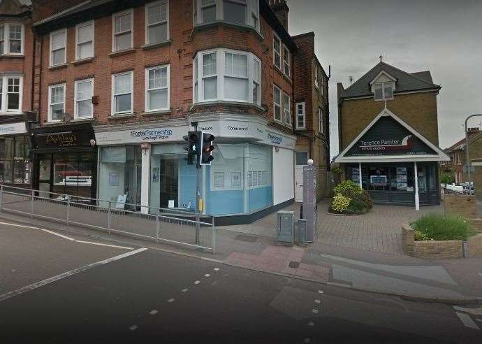 The Foster Partnership office in Broadstairs High Street. Picture: Google (19615709)