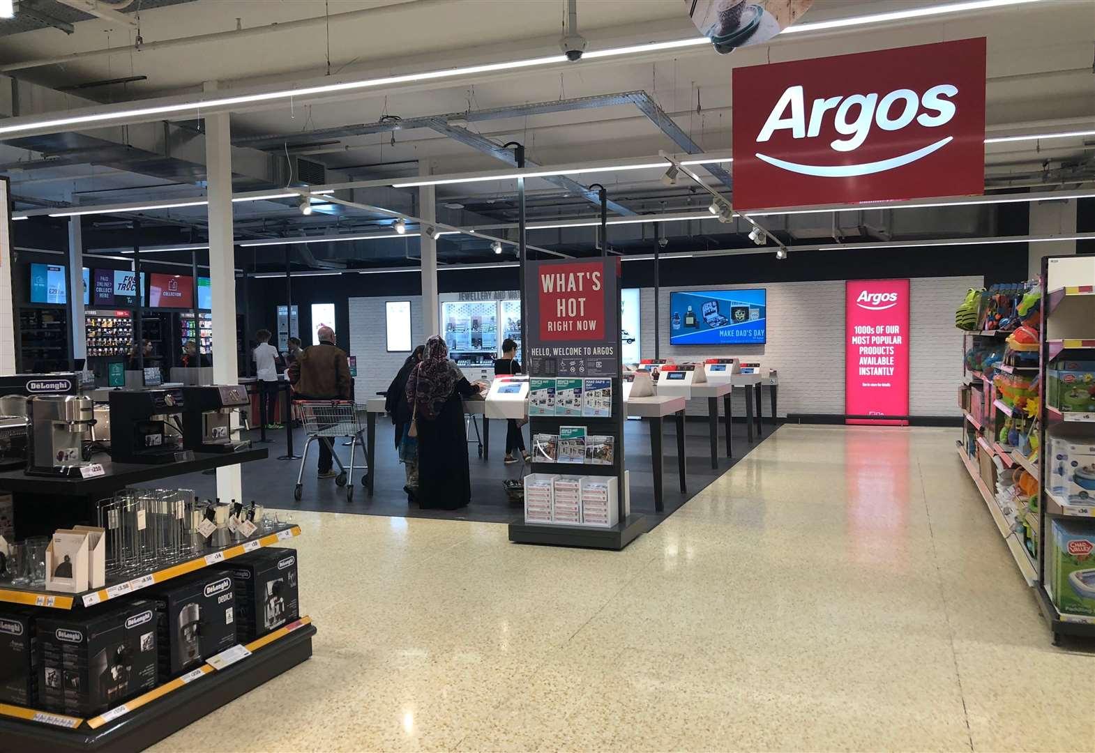 Argos Store To Open Inside Deal Sainsburys Supermarket