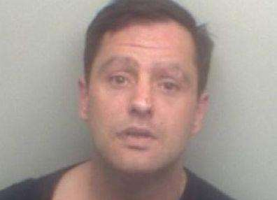 Johnathan Towers has been jailed for 13 months. Picture: Kent Police