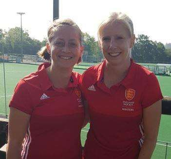 Lizzy Daniels and Louise Cassey will represent England this summer