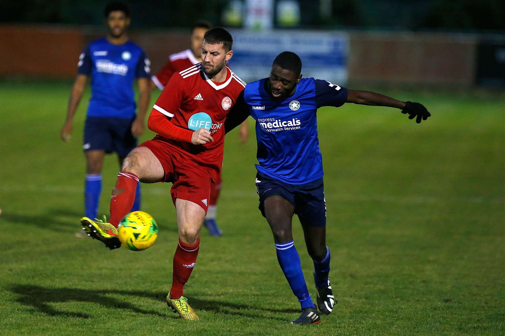 James Rogers will be back for another season at Hythe Town Picture: Andy Jones