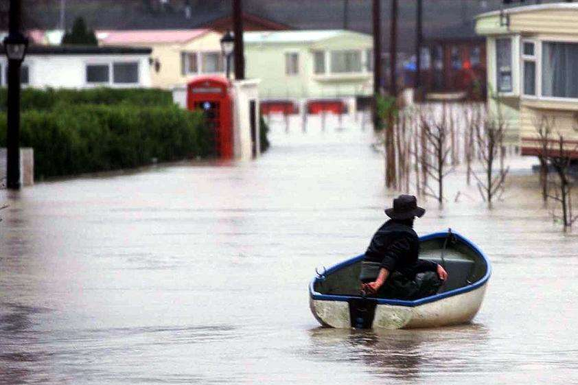 Yalding was one of the areas of Kent hit hard by floods