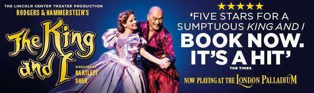 The King and I has returned by popular demand to the West End