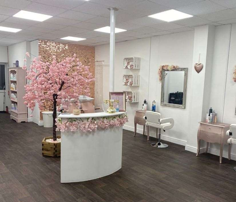 The Glam Sqaud salon is now open for business. Picture: Olivia Meader