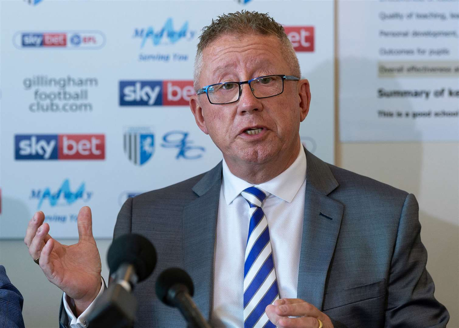 Gillingham chairman Paul Scally wants government intervention to stop money ruining the game Picture: Ady Kerry