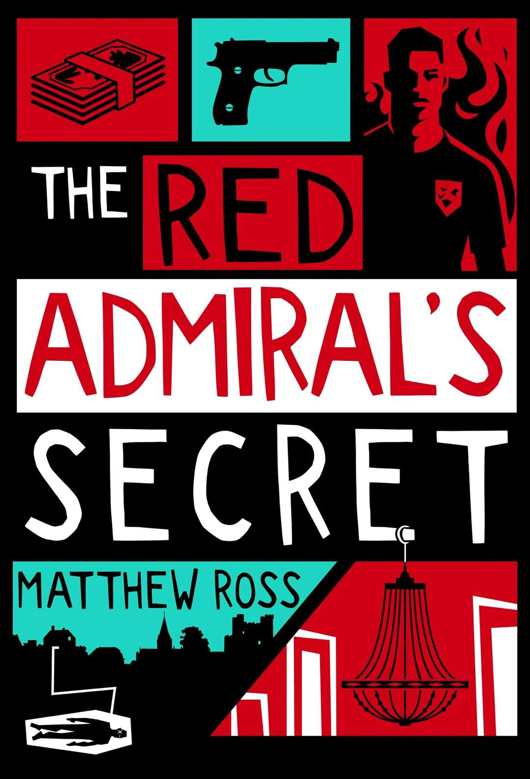 Matthew Ross from Medway's second book, The Red Admiral's Secret Picture: Red Dog Press