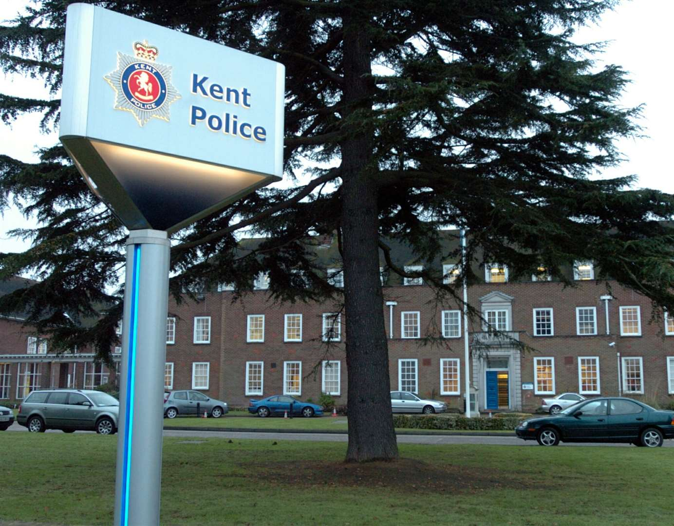 Kent Police Headquarters, Sutton Road. Maidstone. General views.Picture by Matthew Walker. (876114)