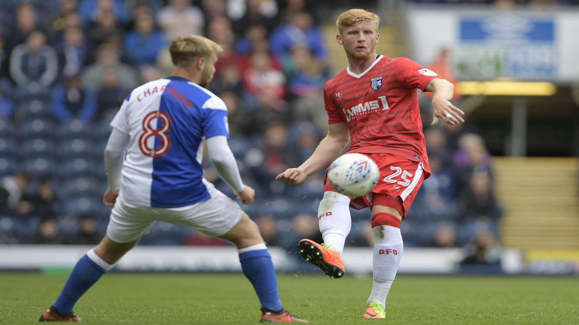 Finn O'Mara swapped Cheriton Road for Ewood Park on Saturday Picture: Barry Goodwin
