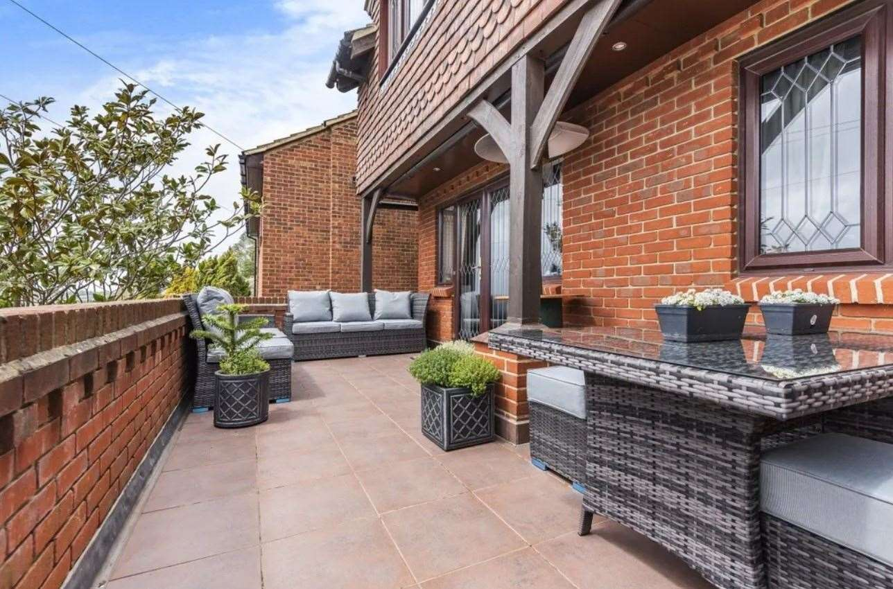 The property boasts views across the Isle of Sheppey. Picture: Zoopla / Fine & Country