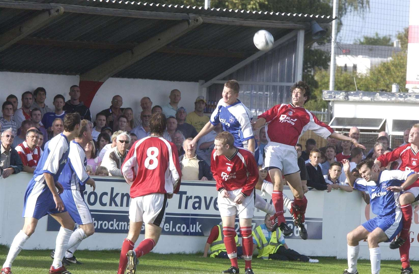 Big crowds flocked for a qualifying round clash between Whitstable Town and Margate in 2006