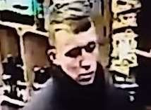 One of the suspects caught on CCTV