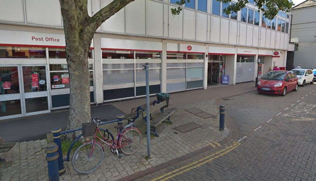 Dartford Post Office in Hythe Street. Picture: Google