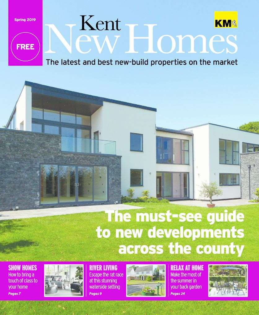 Don't miss your copy of Kent New Homes