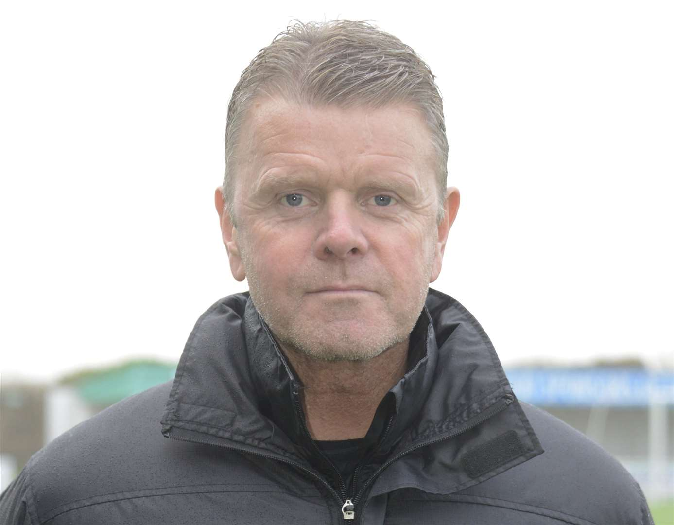 Ashford manager Tommy Warrilow Picture: Paul Amos