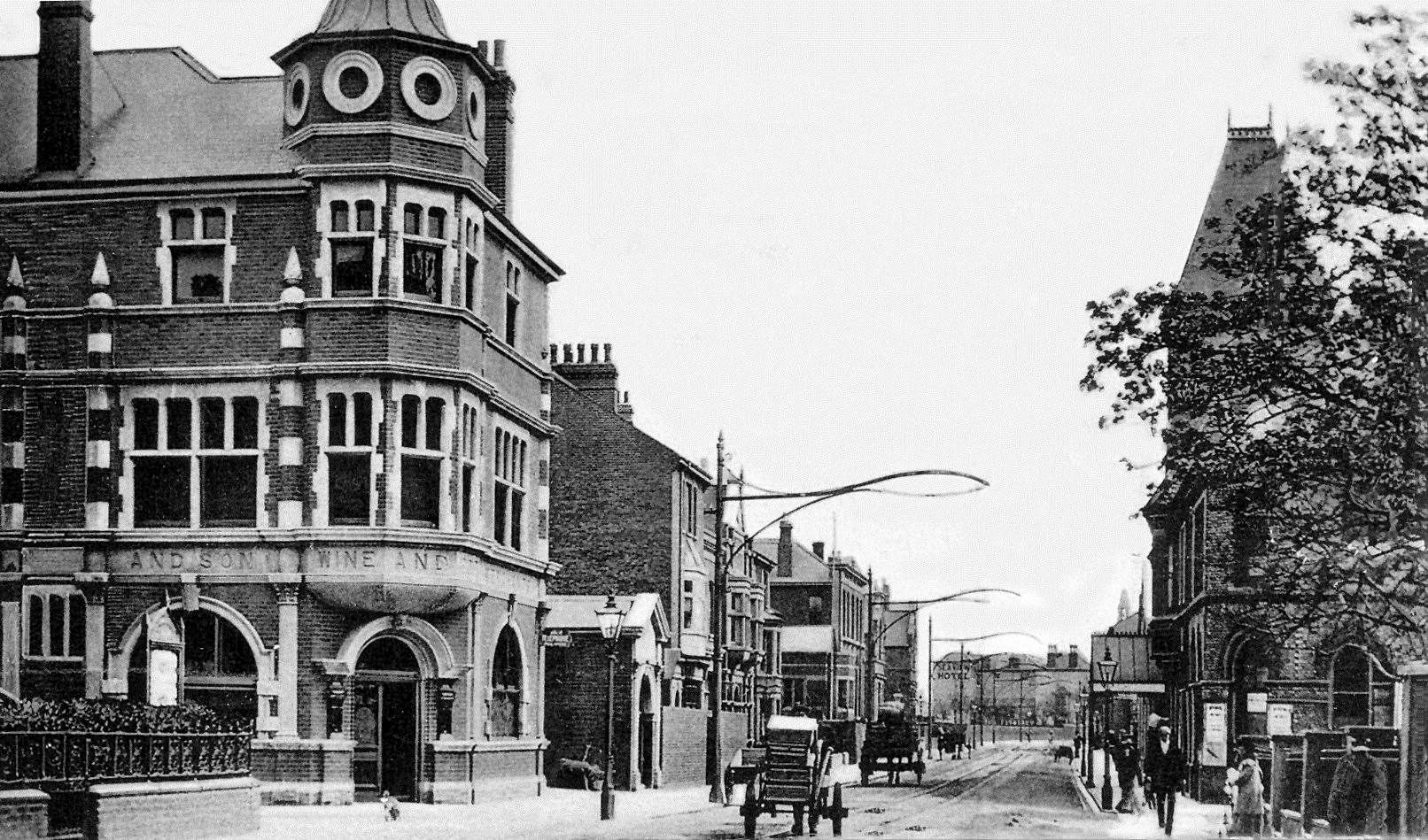 The Royal in 1922. Photo: Courtesy of Sheppey Local History Group