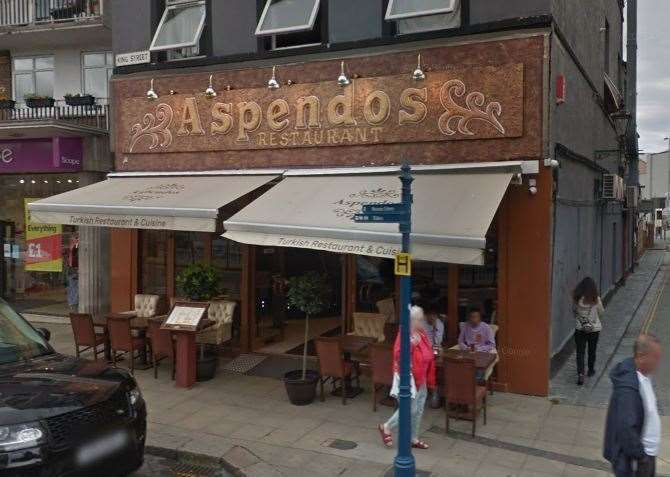 Aspendos is the best takeaway in Dover, according to TripAdvisor
