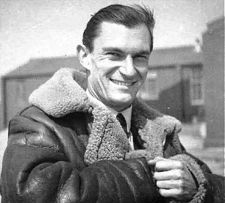 RAF squadron leader René Mouchotte, who was based at Biggin Hill