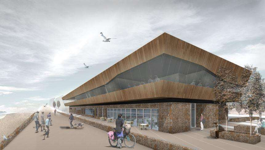 The proposed leisure centre