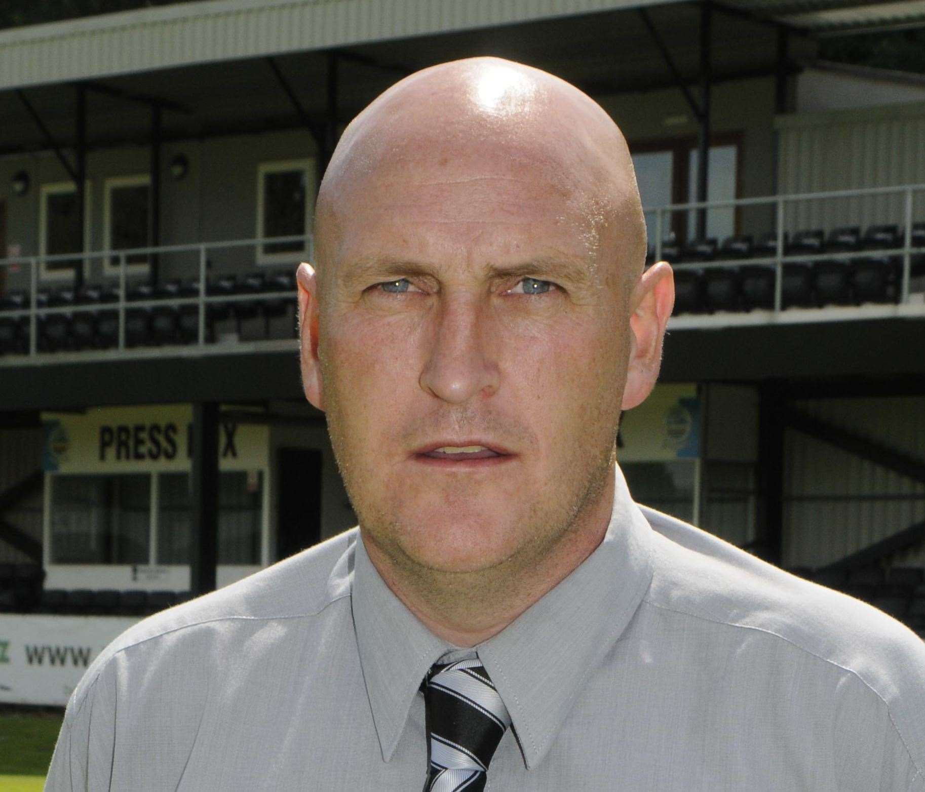 Darren Beale pictured a few years ago at Dover Athletic