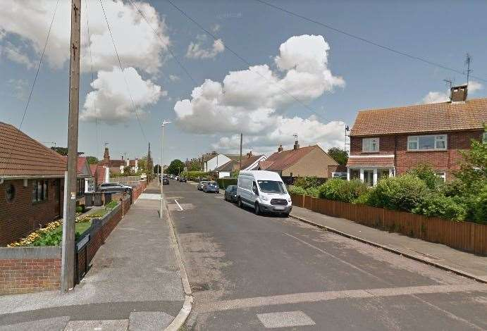 He was found in his flat in Douglas Road, Herne Bay. Picture: Google