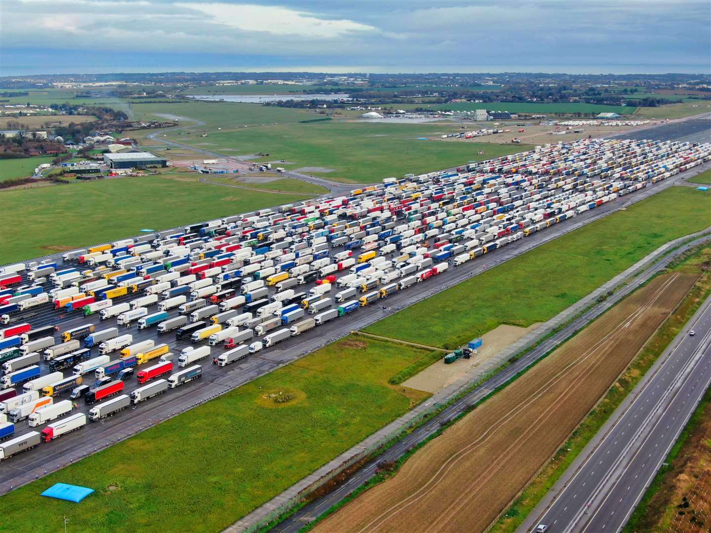 Any traffic mitigation plan will have to forgo the use of Manston, as the government's lease ended last month