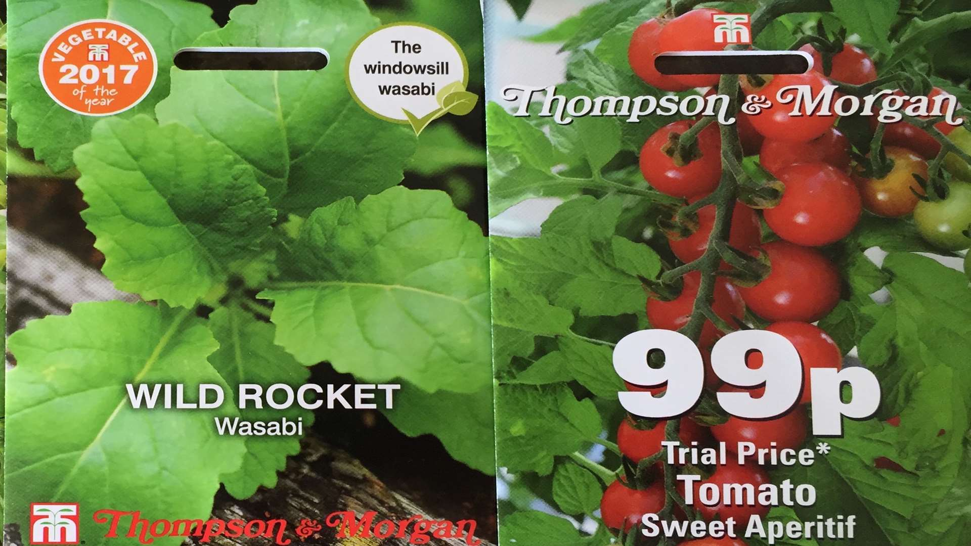 Thomson & Morgan has also introduced new tomatoes to its seeds range
