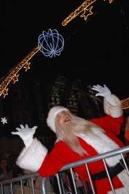 Dartford Christmas Light Switch On Pictures