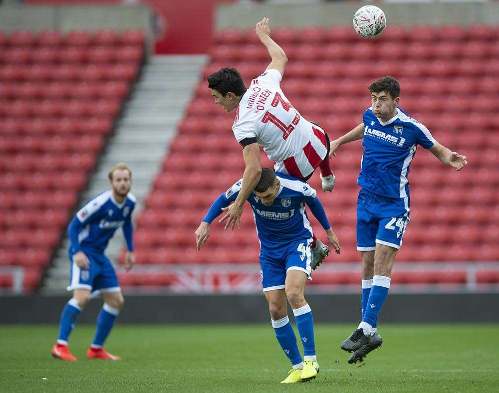 FA Cup action between Sunderland and Gillingham Picture: Ady Kerry (21244279)