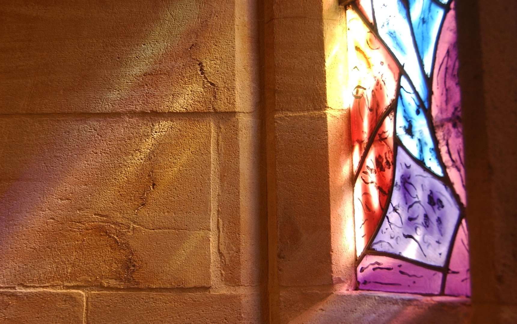 The Chagal stained glass windows at Tudeley church are inspiration for one of the concerts