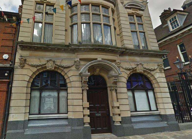 The Conservancy Building, near the Guildhall Museum, Rochester was sold for £590,000. Picture: Google