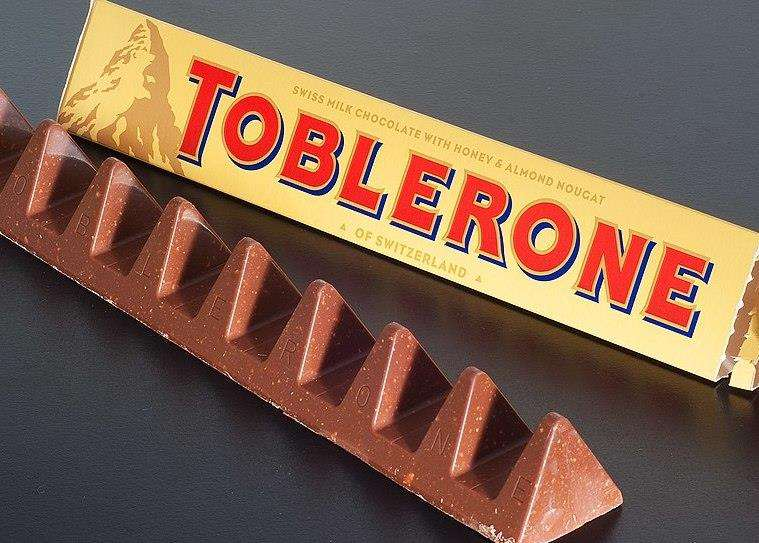 Toblerone has less triangles to eat