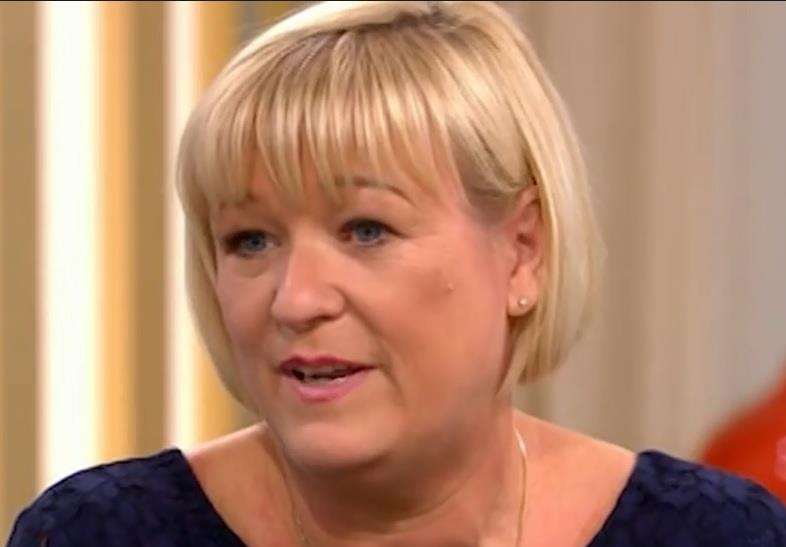 Paula Hudgell appeared on This Morning to tell Tony's story. (2435601)