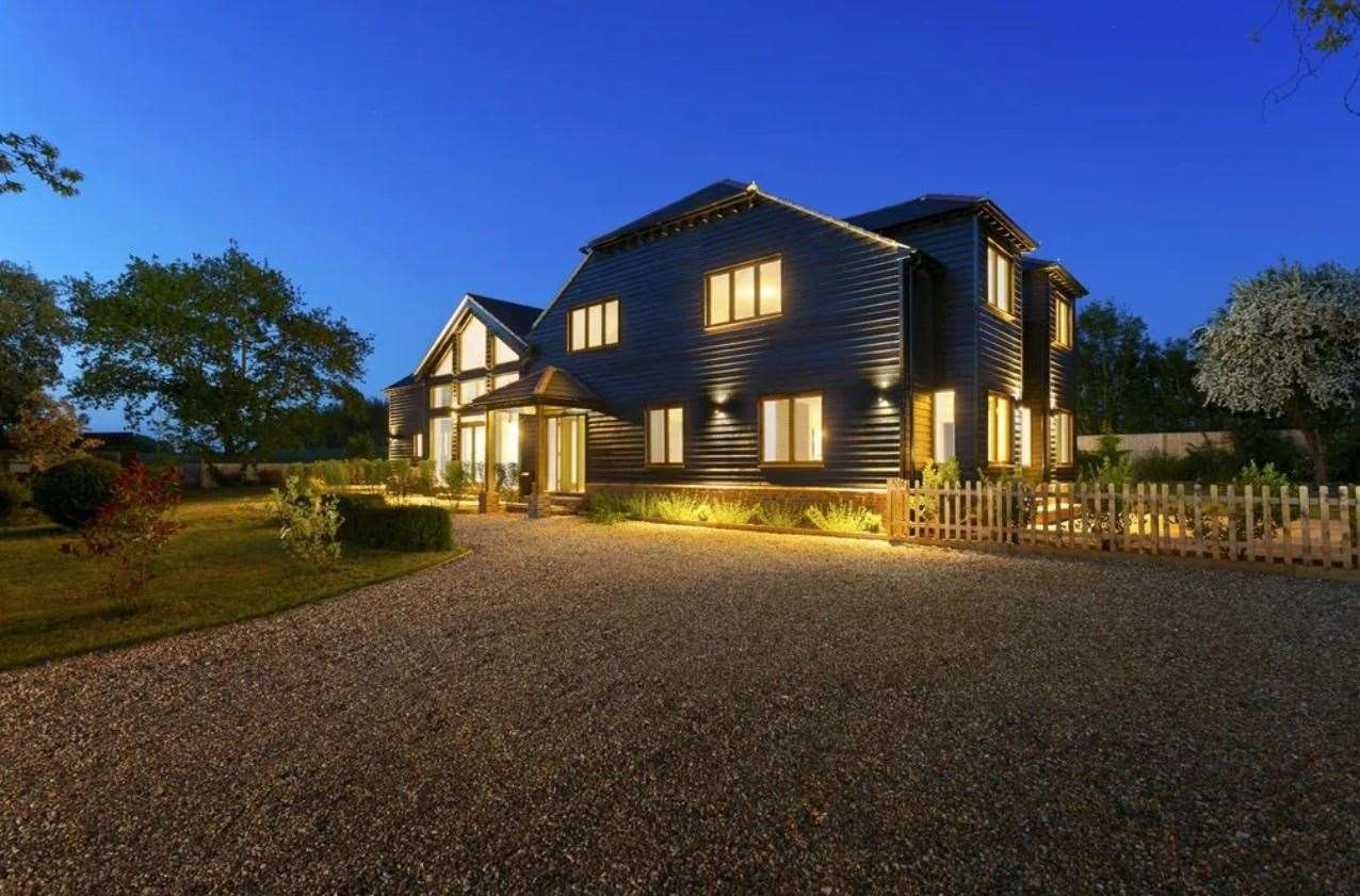 The five-bed detached house in Bekesbourne. Picture: Zoopla / Foundation Estate Agents