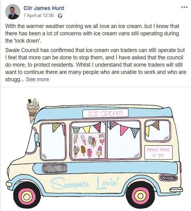 Coronavirus Kent: Should Ice Cream Vans Still Be On The