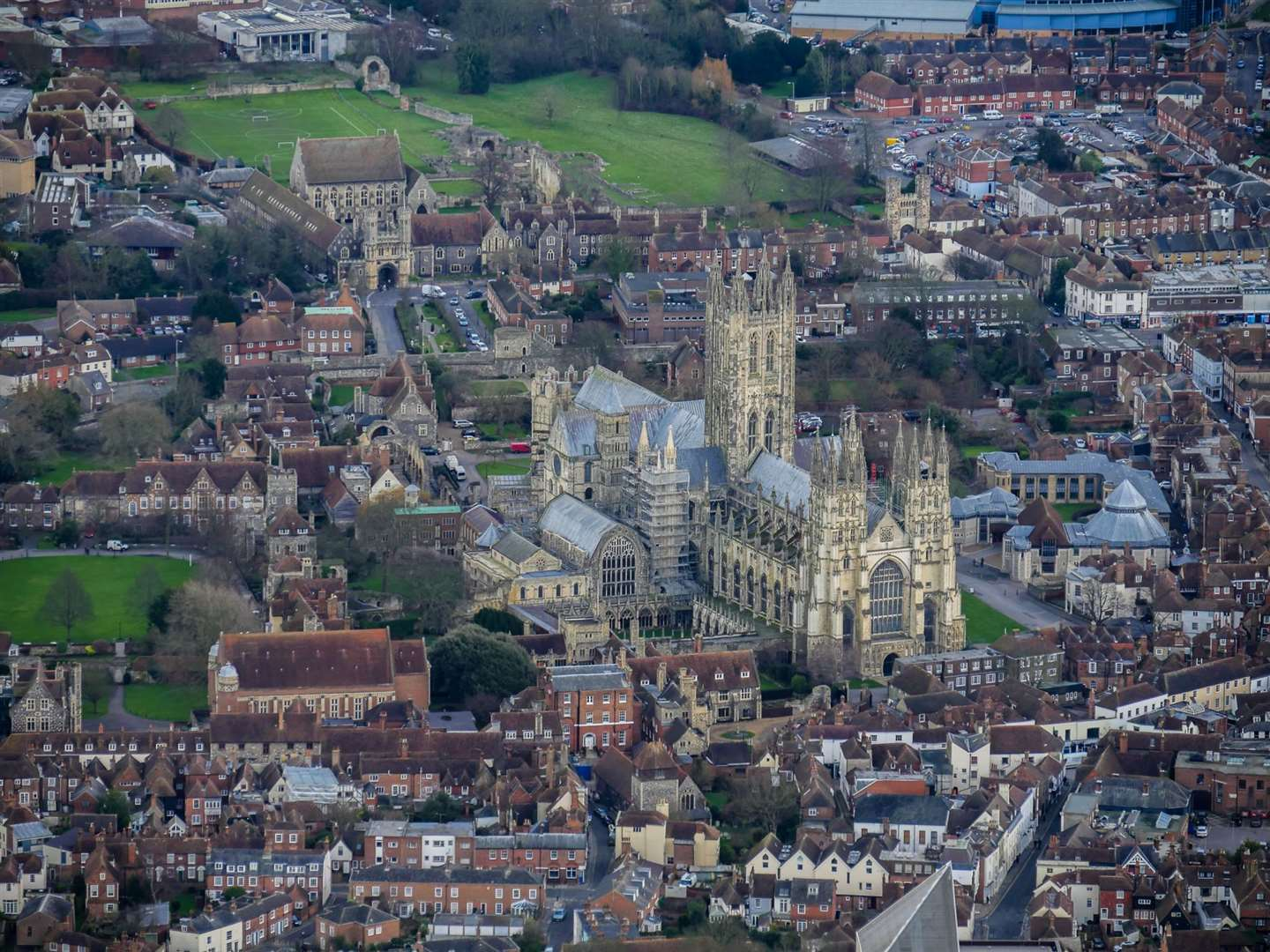 The Cathedral is one of Kent's biggest attractions