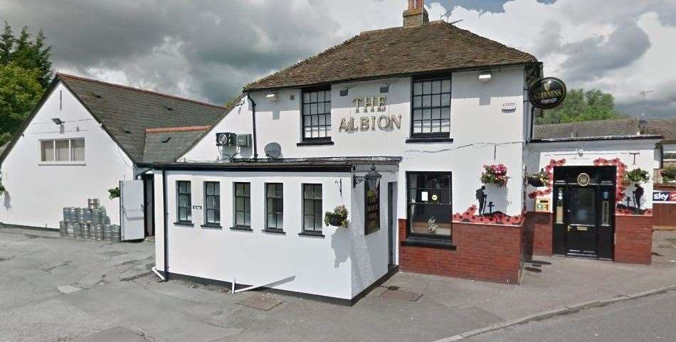 Little's victim was relaxing in the Albion pub, when he came in and demanded cash for drugs