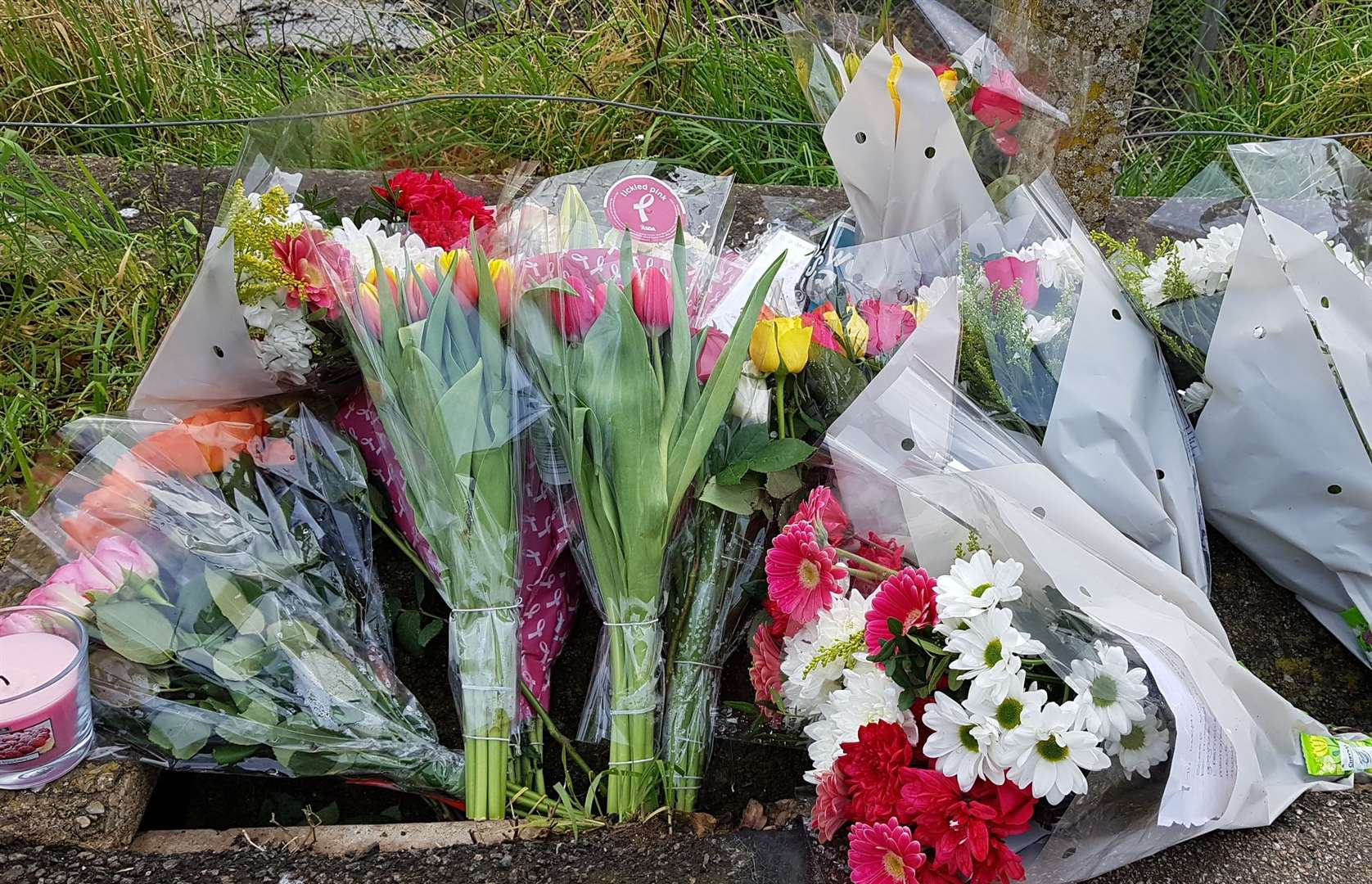 Flowers have been laid at Sturry railway station in memory of popular Lucy