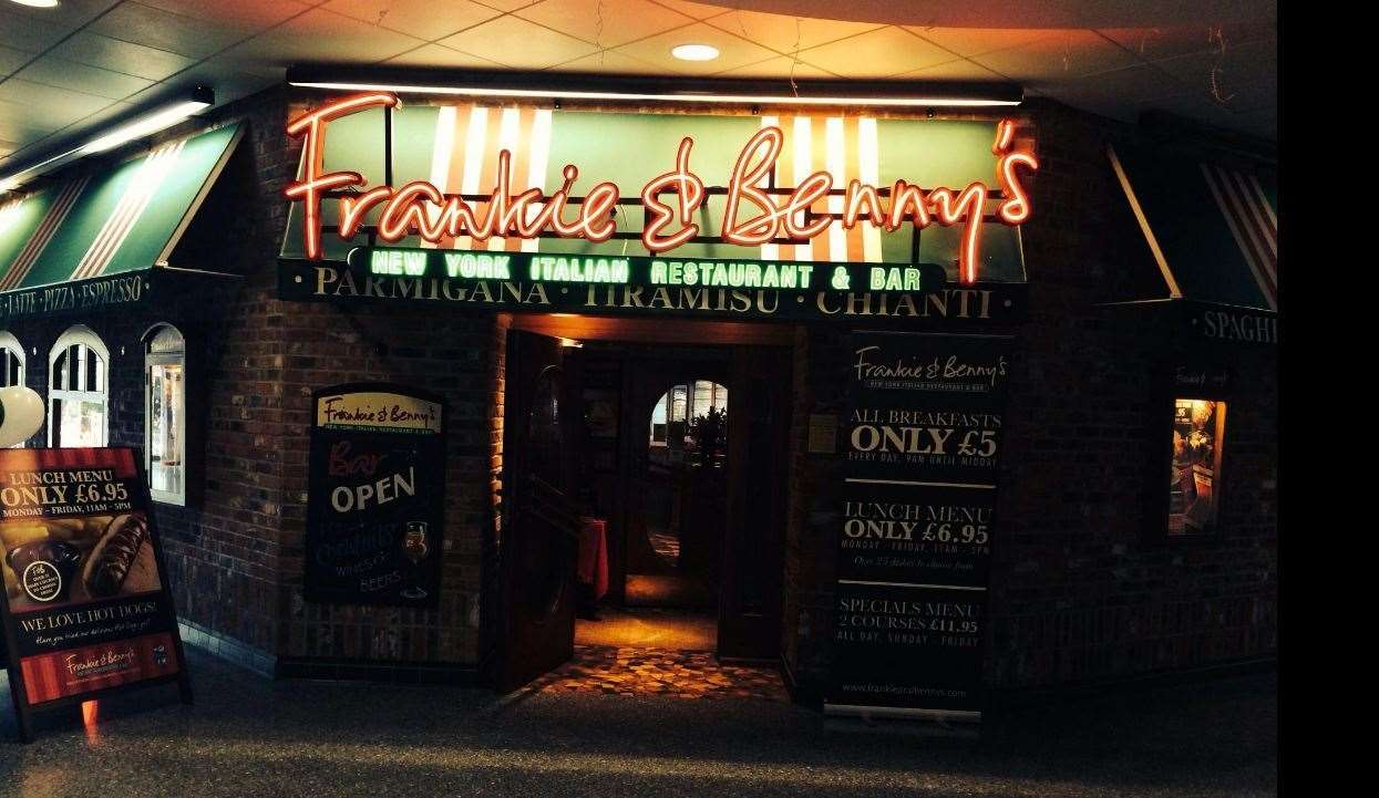 Frankie and Benny's restaurants could close
