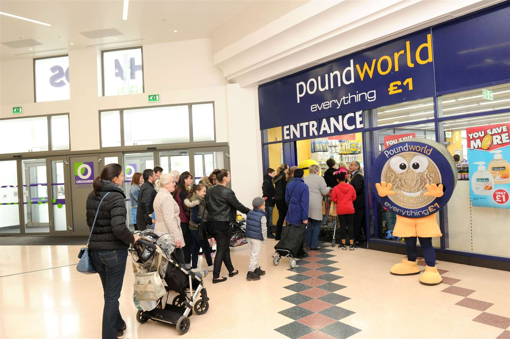 A number - or all - of Poundworld's stores could be sold