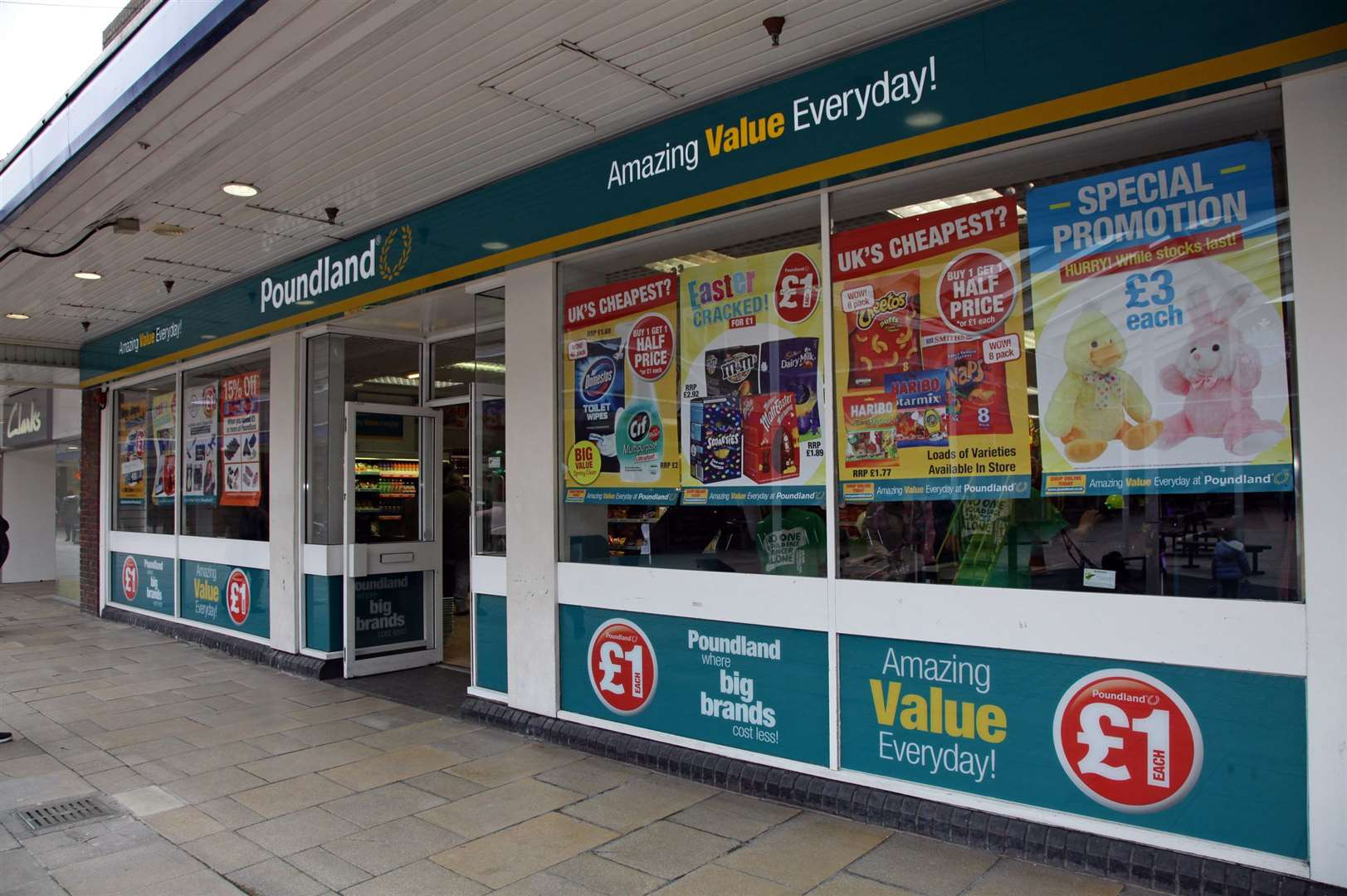 Poundland in the St George's Centre