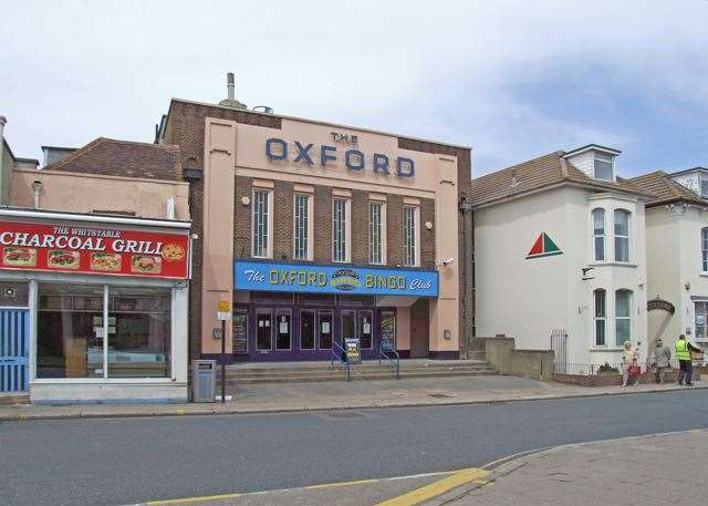 The Oxford Cinema in Whitstable, which became the Wetherspoon pub (© Copyright Dennis Turner)