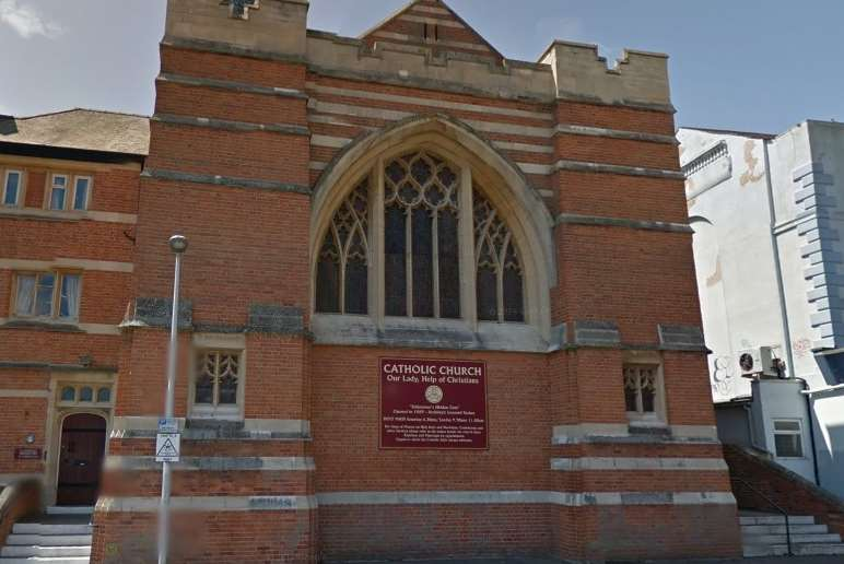 Two charged after theft at Catholic Church of Our Lady in Guildhall