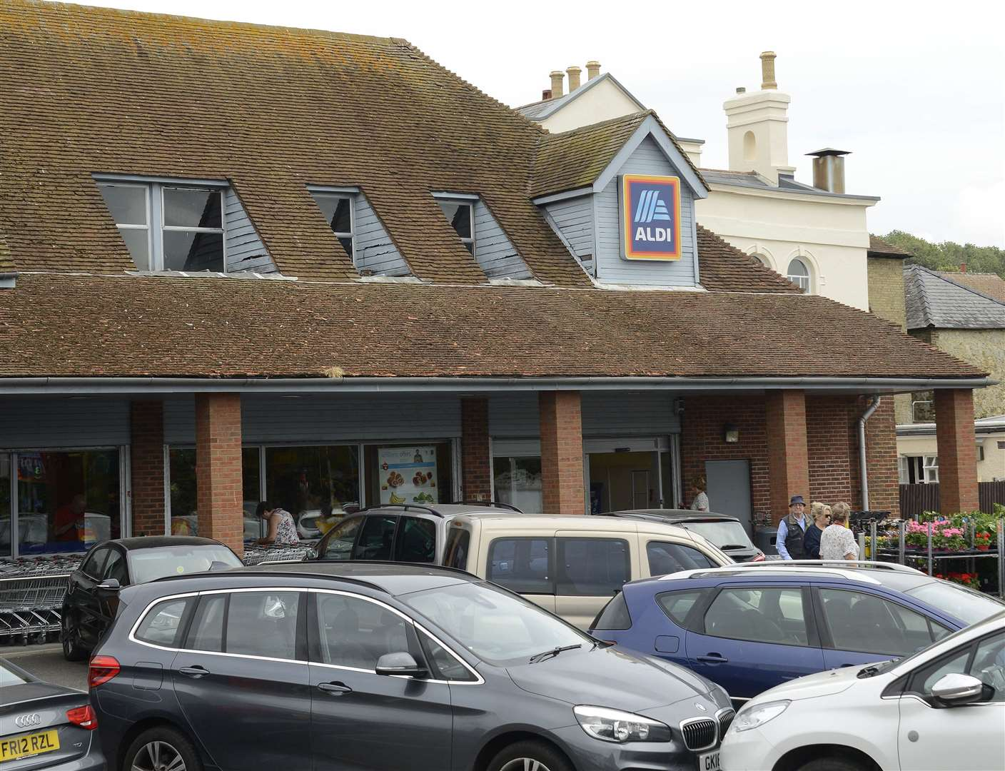 Aldi will moved from its current store in the High Street. Picture: Paul Amos
