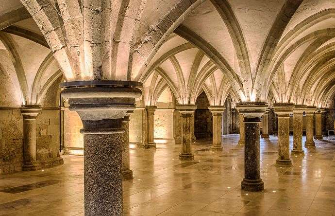 Rochester Cathedral crypt will host VIP business reception after the event