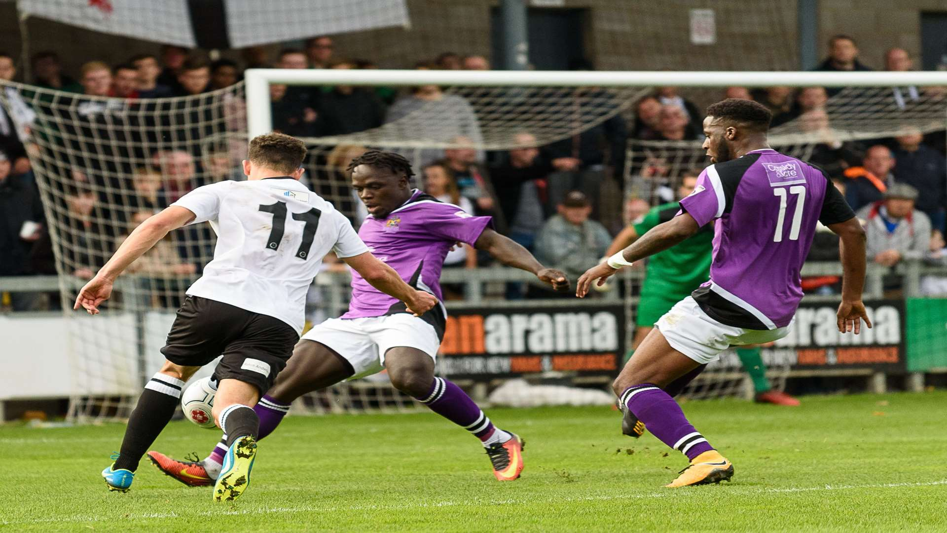 Dartford beat promotion rivals St Albans 2-1 on Saturday Picture: Tony Jones